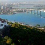 Vitória: Imagem aérea da Terceira Ponte