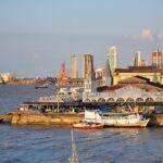 Belém: Imagem do porto da cidade de Belém