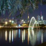 São Paulo: imagem ilustrativa de um lago em uma cidade