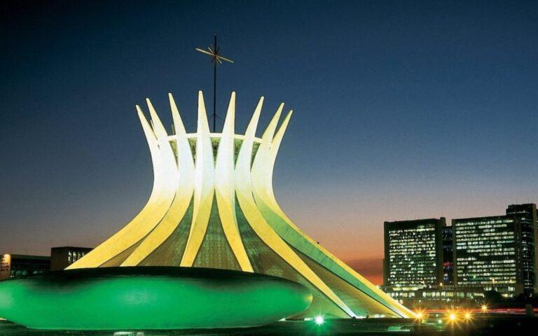 Distrito Federal: imagem da Catedral Metropolitana Nossa Senhora Aparecida